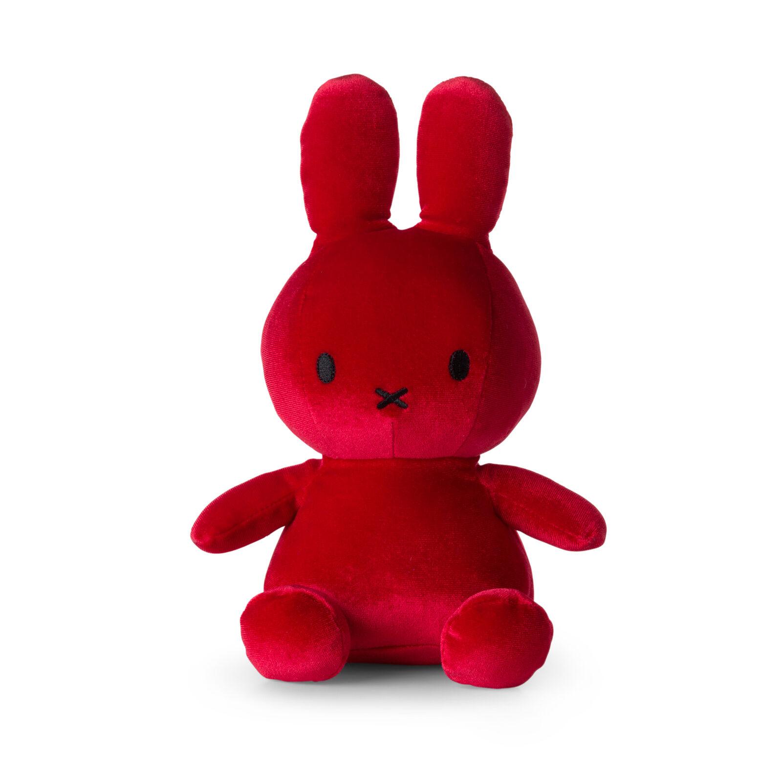Nijntje Knuffel Velvet Candy Red 23 cm