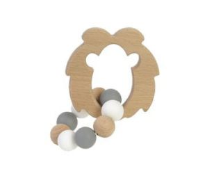 BamBam Wooden Teether Lion