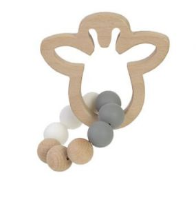 BamBam Wooden Teether Giraffe