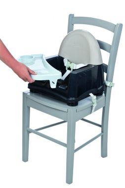 Safety 1st Stoelverhoger Easy Care Warm Grey