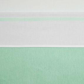 Wieglaken Bies Stip New Mint 75 x 100 cm
