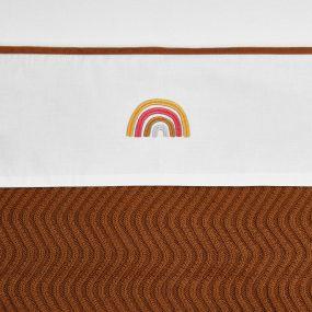 Meyco Wieglaken Bies Velvet Camel 75 x 100 cm