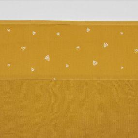 Meyco Wieglaken Sweet Triangle Okergeel 75 x 100 cm