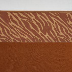 Meyco Wieglaken Zebra Camel 75 x 100 cm