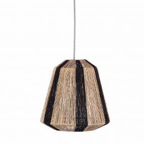 KidsDepot Hanglamp Ven Black Natural