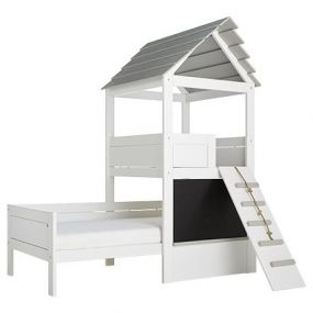 Life Time Play Tower Bed Wit Gelakt