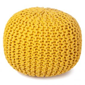 Kidsdepot Bundy Poef Yellow
