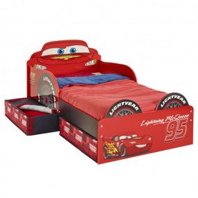 Cars Snuggle Time Bed Met Lades