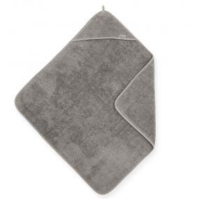 Jollein Badcape Badstof 75 x 75 cm Storm Grey