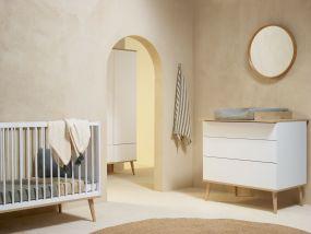 Quax Babykamer Flow White & Oak