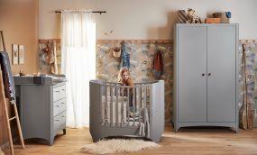 Leander Classic Doorgroei Babykamer 3 Delig Grey