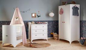 Leander Classic Doorgroei Babykamer 3 Delig White