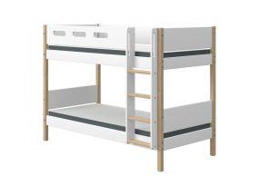Flexa Nor Stapelbed Met Rechte Ladder 90 x 200 cm