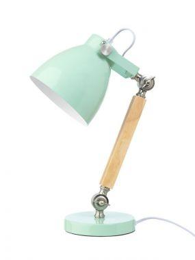 Life Time Bureaulamp Hout Metaal Mint