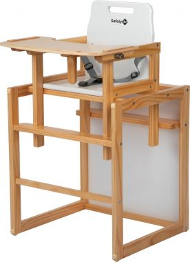 Safety 1st Highchair Cherry Natural Wood