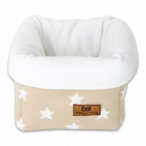 Baby's Only Commodemandje Ster Beige/Wit