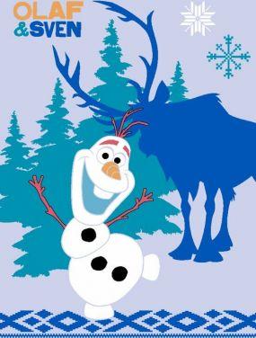 Frozen Tapijt Olaf & Sven