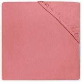 Jollein Hoeslaken Jersey 75x150 Coral Pink