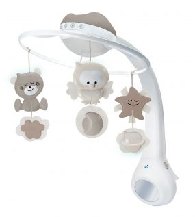 B-Kids WOM Musical 3 in 1 Projecter Mobile Grey