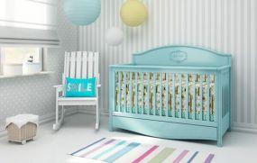 Ledikant Goodnight Mint - babybedje