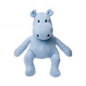 Baby's Only Nijlpaard 40 cm Uni Kabel Baby Blauw