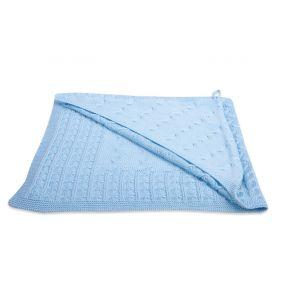 Baby's Only Badcape Kabel Uni Baby Blauw