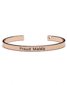 Proud MaMa Babybel Armband Bangle Roze