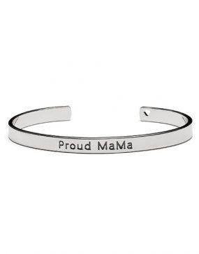 Proud MaMa Babybel Armband Bangle Zilver