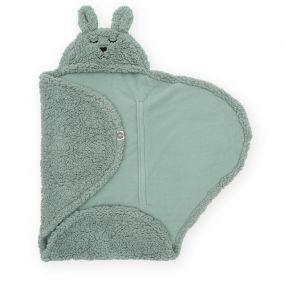 Jollein Wikkeldeken Bunny Ash Green 100x105 cm