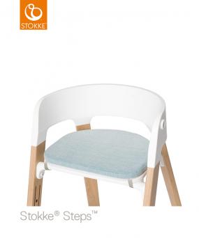 Stokke® Steps™ Stoel Kussen Jade Twill