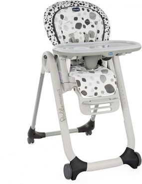 Chicco Meegroei Kinderstoel Polly Proges5 Anthracite