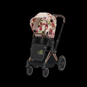Cybex Kinderwagen Priam Spring Blossom Light Beige