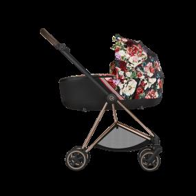Cybex Kinderwagen Mios 2 in 1 Spring Blossom Dark Black