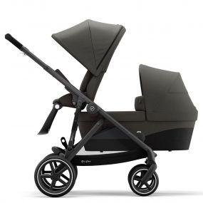 Cybex Duo Kinderwagen Gazelle S Soho Grey