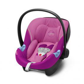 Cybex Autostoel Aton M I-Size Sensorsafe Magnolia Pink - Purple