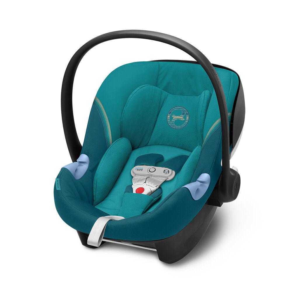Cybex Autostoel Aton M I-Size Sensorsafe River Blue - Turquoise