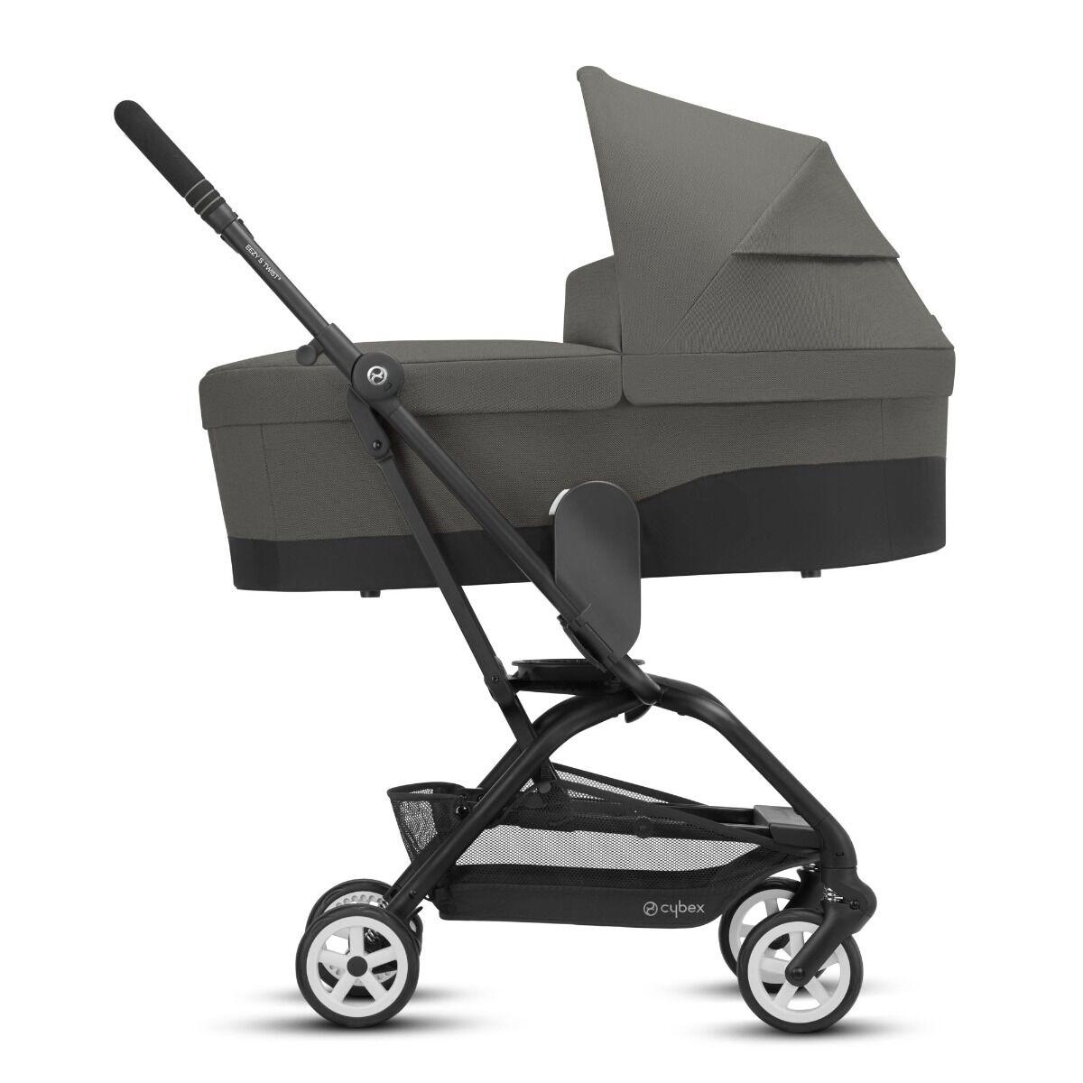 Cybex Kinderwagen 2 in 1 Eezy S Twist 2 Soho Grey Black Frame