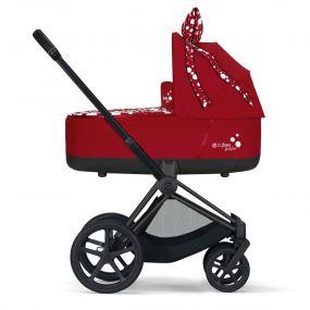 Cybex Kinderwagen 2 in 1 Priam Petticoat Dark Red