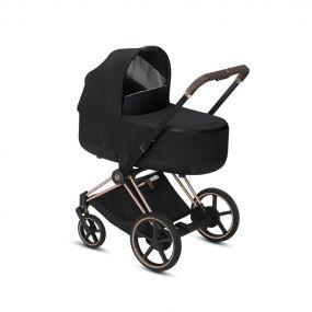 Cybex Kinderwagen ePriam 2 in 1 Deep Black / Rosegold Frame