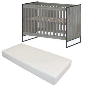Cabino Baby Bed Met Matras Dakota 60 x 120 cm