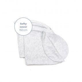 Doomoo Voedingskussen Softy Hoes White 150 cm