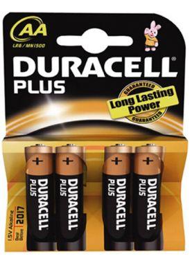 Duracell Batterijen AA 4 Stuks
