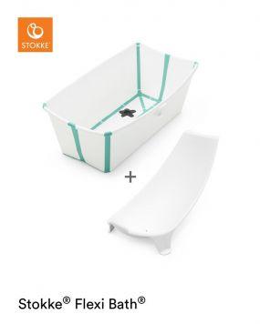 Stokke® Flexi Bath™ White Aqua + Newborn Support