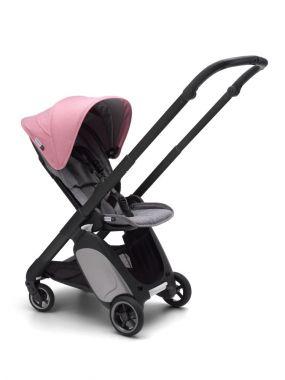Bugaboo Kinderwagen Ant Black - Grey Pink Melange