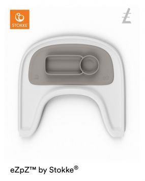 ezpz™ by Stokke™ Placemat voor Tripp Trapp™ V2 Eetblad Grey