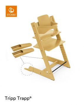 Stokke® Kinderstoel Tripp Trapp® Sunflower Yellow + Baby Set™ Sunflower Yellow + Tray™