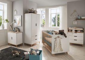 Babykamer Infans Color 2-Delig - Mat White