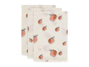 Jollein Hydrofiele Washandjes Peach 3 Stuks