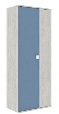 2-deurs Kledingkast Jules Smokey Blue