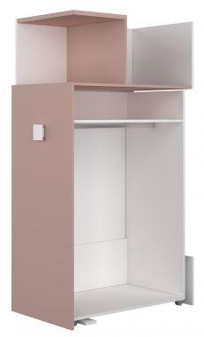 Aanbouwkast Jules Antique Pink